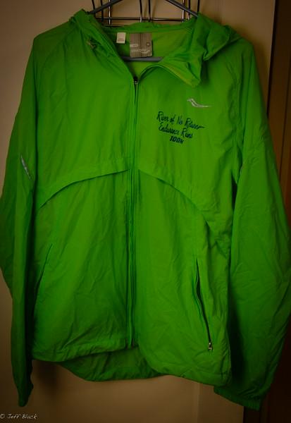 100k finishers jacket!