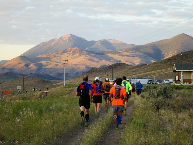 Heading out of Challis.
