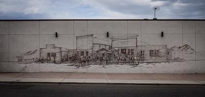 Main Street mural.