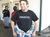 After the race, laughing - read the shirt - Road Atlanta November 4-5, 2006