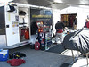 Another setup with Trailer and tool setup in the pit area -  Road Atlanta, November 4-5, 2006