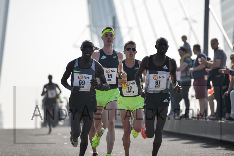 Rotterdam Marathon, ROTTERDAM NETHERLANDS - April 9: