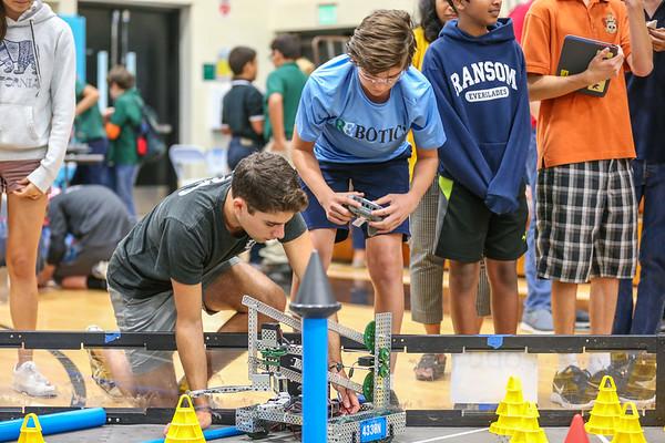 Robotics Competition.  Ransom Everglades 2017