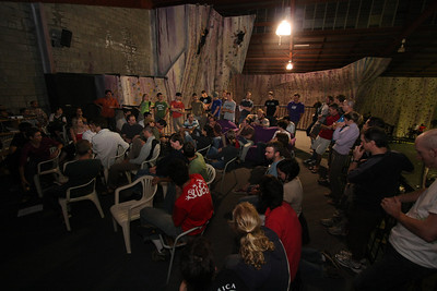 The first meeting of the Australian Climbing Association Queenland (ACA Qld)
