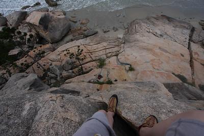 Marikki on the edge.