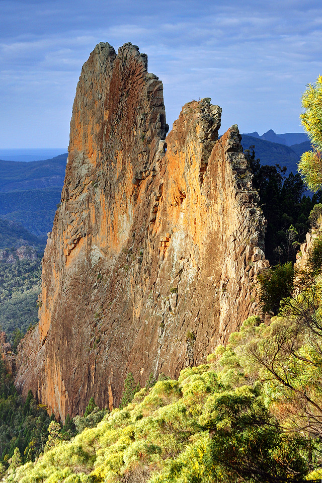 The Bread Knife, Warrumbungles. Photo by Trent Williams
