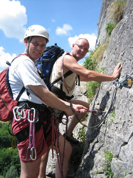 Rock-Climbing Rochers de Freyr, Ardennes with Rogier Wassenberg and Paul Klok