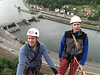 flood-control dam of the Meuse, Rock-Climbing, Rochers du Paradou (Yvoir) Ardennes, Marijn and Rogier