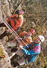 rock-climbing course: rope- and rescue technics with Mark v. 't Hof
