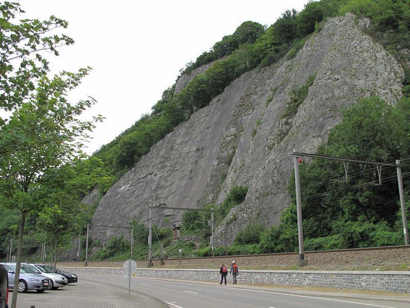 Rock-Climbing, Rochers du Paradou (Yvoir) Ardennes with Rogier and Rinke Wassenberg