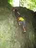 rock climbing Beez, Ardennes