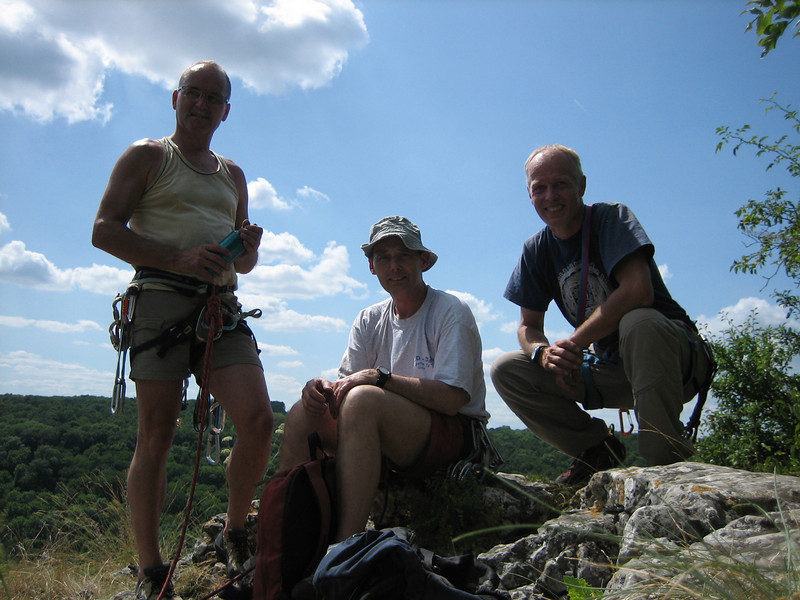 Rock-Climbing Rochers de Freyr, Ardennes, Paul, Rogier and Marijn