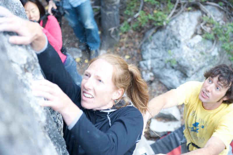 Jackson Hole Rock Climbing, Jessica Baker