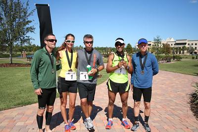 The Winning Team: Flagler Feet For Fifty.