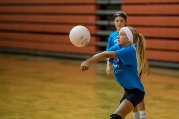 Rockford Community Volleyball 6th grade 9.16.17