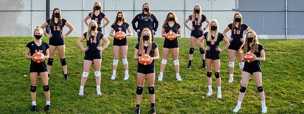 Freshmen Volleyball 2020-2300