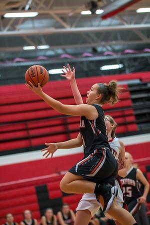 Rockford Girls Basketball JV & Varsity vs Kent City 7.28.17