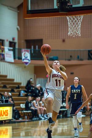Rockford Girls Basketball JV vs East Grand Rapids 12.1.17