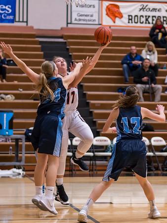Rockford Girls Basketball JV vs Mona Shores 12.12.17