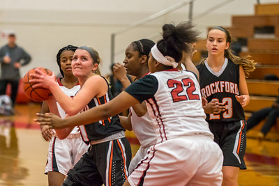 Rockford JV Basketball vs Muskegon 12 7 17-10