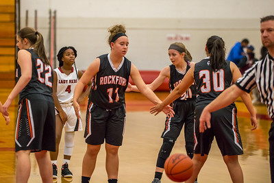 Rockford JV Basketball vs Muskegon 12 7 17-46