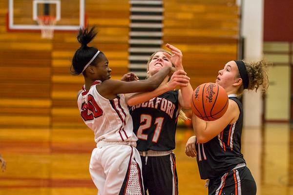 Rockford Girls Basketball JV vs Muskegon 12.7.17