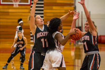 Rockford JV Basketball vs Muskegon 12 7 17-13