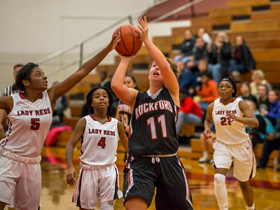 Rockford JV Basketball vs Muskegon 12 7 17-29