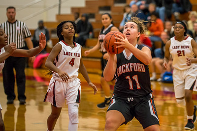 Rockford JV Basketball vs Muskegon 12 7 17-28