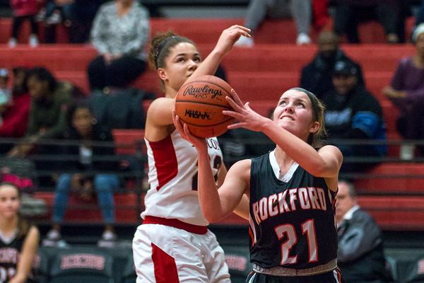 Rockford JV Girls Basketball vs East Kentwood 01.23.18