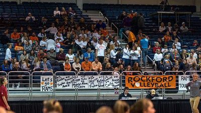 Rockford Volleyball vs Northville MHSAA Semifinals Matchup.