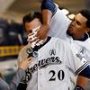 Rockies Brewers Baseball