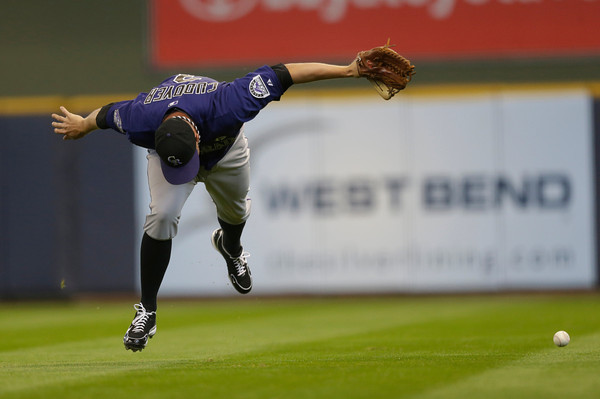 Rockies Brewers Baseball