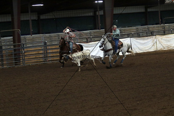 County Roping Second Round