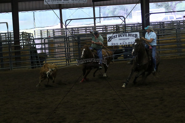 Llano County Team Roping 1st Round
