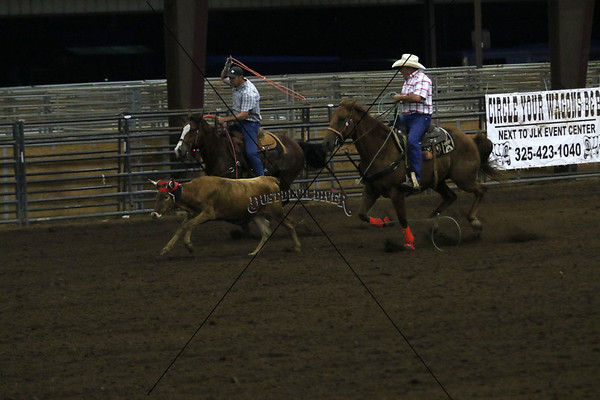 Llano County Team Roping 2nd Round