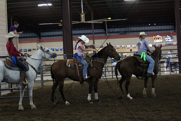 All Girl Rodeo Barrel Race