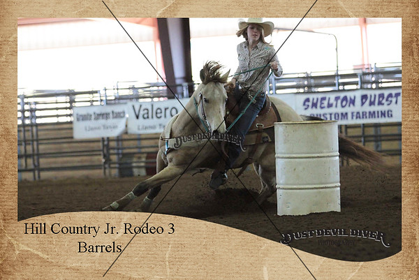 Hill Country Jr. Rodeo 3 Barrel