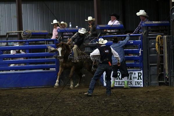 Friday Saddle Bronc Riding 2015