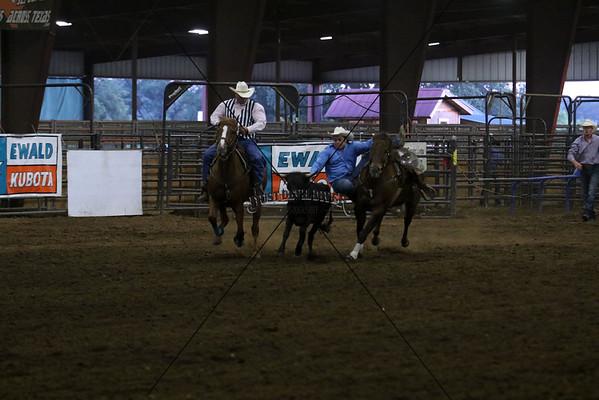 Friday Steer Wrestling 2015