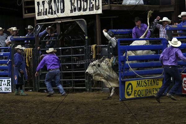 Saturday Bull Riding Second Go 2015