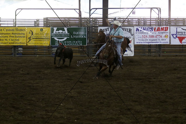 Llano County Team Roping 2nd Go