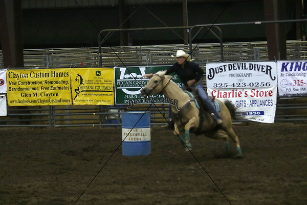 Saturday Night Barrel Racing