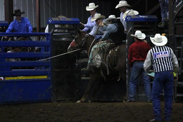 PRCA Saddle Bronc Saturday