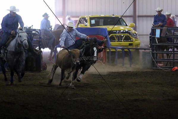 PRCA Steer Wrestling Sunday