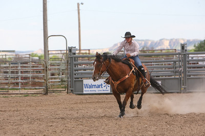 Day one of the Panhandle High School Rodeo, at Scotts Bluff County Fairgrounds in Mitchell, NE. In the Barrel Racing Gordon's Jessica Bragg.