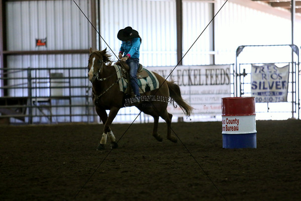 Barrel Racing Sunday