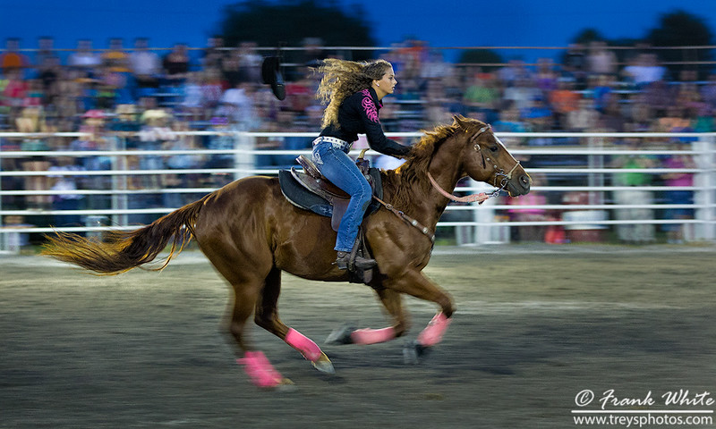 Cowgirl Barrel Racing #6