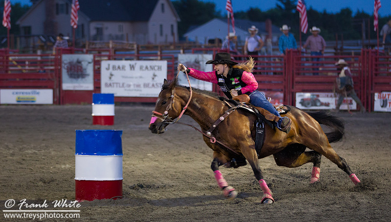 Cowgirl Barrel Racing #1