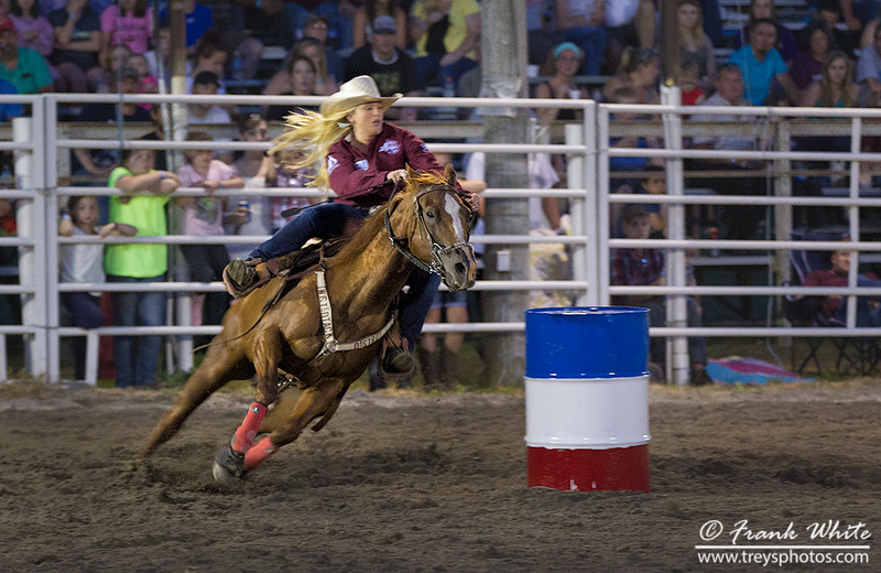 Cowgirl Barrel Racing #3